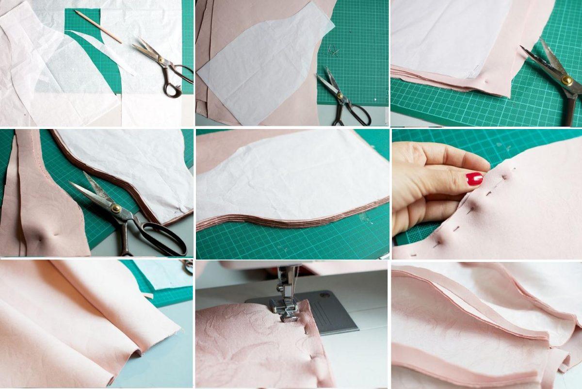 como-hacer-una-falda-de-cuero-con-patron