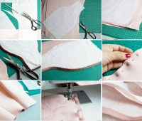 Como hacer una falda de cuero con patrones