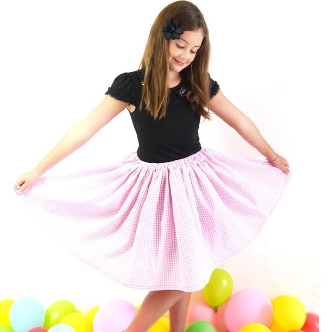 Como hacer una falda de niña para toda ocasión