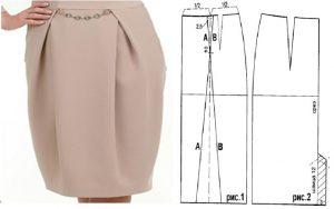 falda-de-vestir-con-patrones
