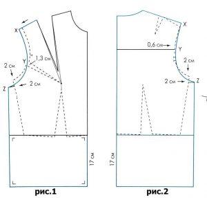 patrones de blusa básica