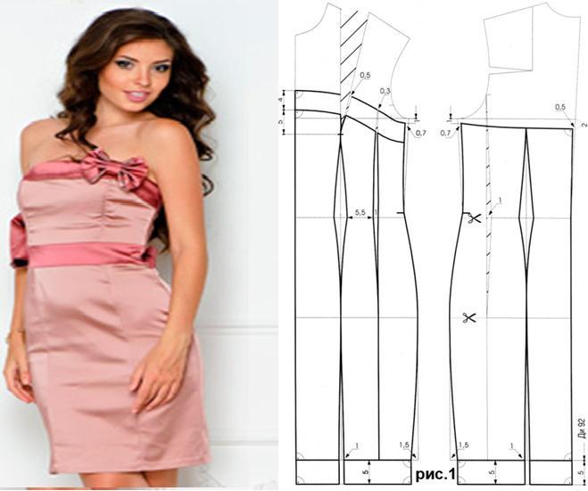 Vestido corpiño con patrones - Moda & Manualidades