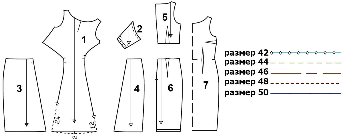 vestido-drapeado-de-gala-patrones