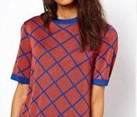 Camiseta basica con patrones