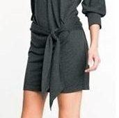 Vestido sencillo de mangas anchas con patrones