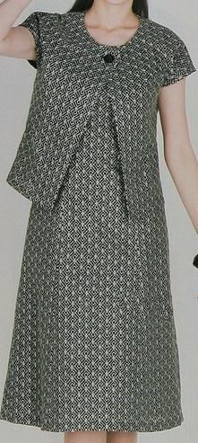 vestido casual de dos piezas