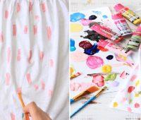 Bricolaje en camisetas para niñas facil y divertido ¡Ideal para hacer madre e hija!