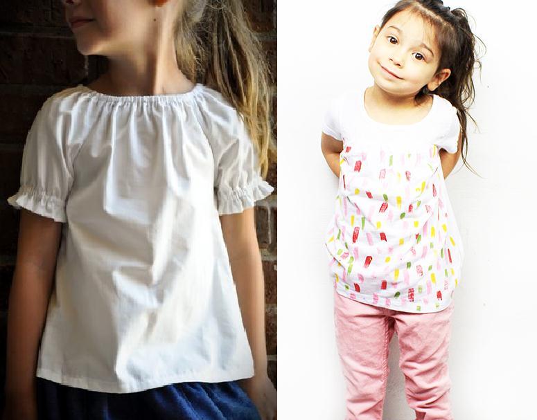 Bricolaje en camisetas para niñas facil y divertido