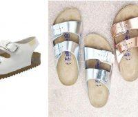 Renueva sandalias anatómicas metalizandolas en casa