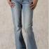 Pantalones a la cadera botas rectas con patrones