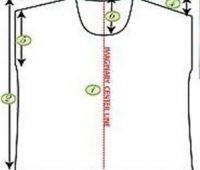 Blusa casual mangas corridas con patrones