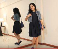 Renueva tu Closet! Como hacer un hermoso Vestido negro basico!
