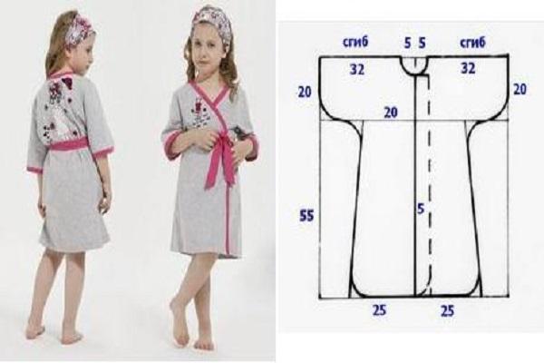 Como hacer batas de baño para niños ¡Con moldes! - Cursos ...
