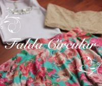 Como Hacer una Falda Circular Perfecta! Trazo y Confección