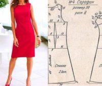 Vestido elegante sencillo con patrones de medidas puntualizadas ¡Perfecto para principiantes en costuras!