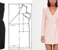 Vestidos casuales cruzados con moldes ¿Cuál te harás primero?