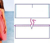 Ideas para hacer sencillos vestidos playeros ¡Perfectos para todas!