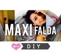 Cómo Hacer una Maxi Falda y Transformarla!