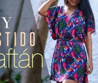 Cómo Hacer un Caftan Kaftan Dress Trazo y Confección