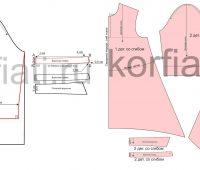 Como hacer patrones de vestidos casuales asimétricos de manera sencilla