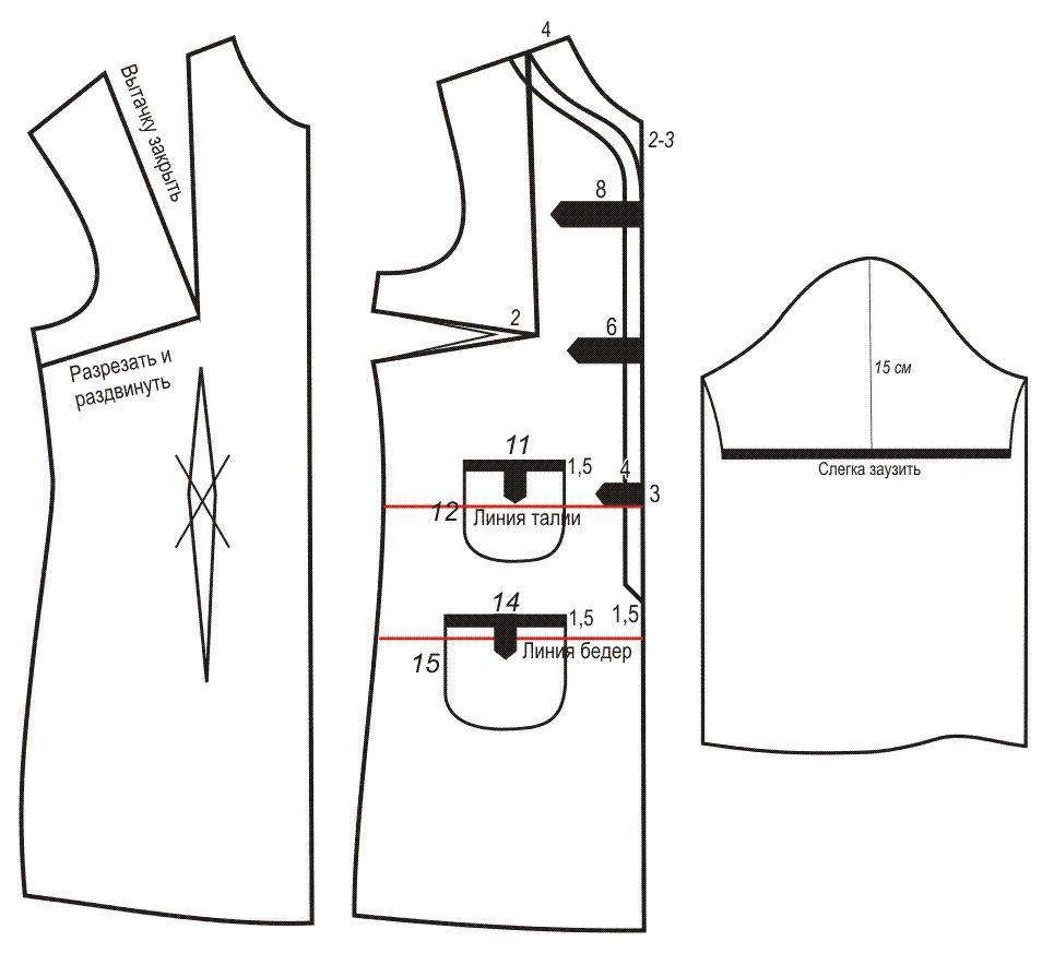 Vestido elegante sencillo con moldes de fácil trazado - Moda ...