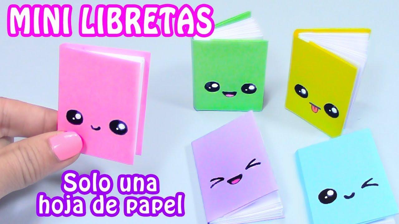 Cómo Dibujar Un Libreta Paso A Paso: Haz Tus Propias Mini-Libretas Facilito!