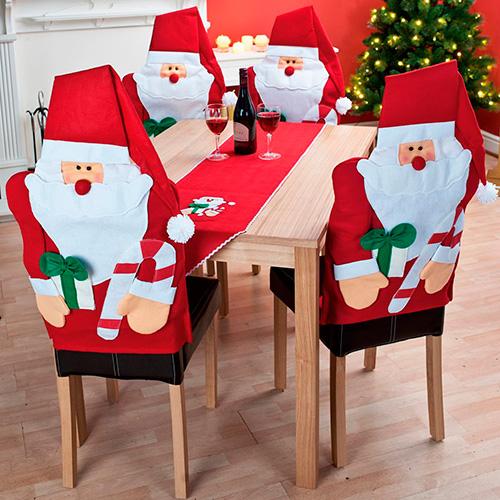 Ideas para hacer forros navideños de sillas - Moda & Manualidades y ...