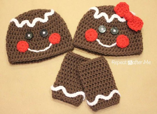 Manualidades Gorros De Navidad.Modelos De Gorros Navidenos Tejidos En Crochet Moda