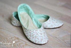 Resultado de imagen para Zapatillas de algodón con moldes