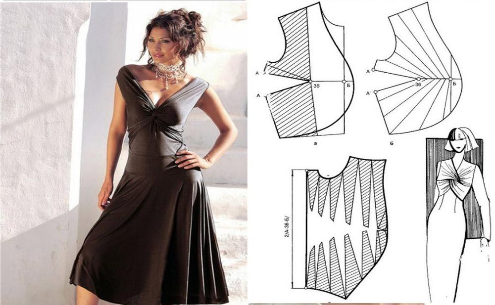 patrones-vestido-escotado