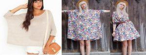 blusa modelo túnica