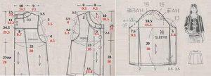 patrones de chaqueta para dama