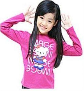 Camiseta mangas largas para niñas