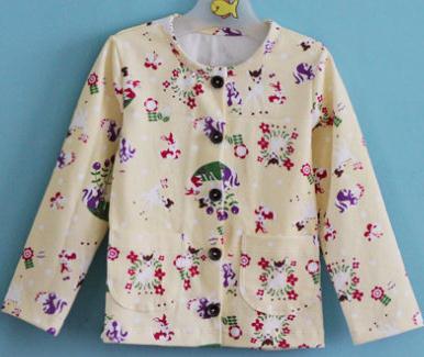 b77afac038 Cardigan pijama para niños con moldes - Moda   Manualidades y Cursos
