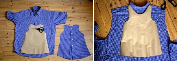 Como Hacer Vestidos Sencillos Para Bebitas Con Camisas