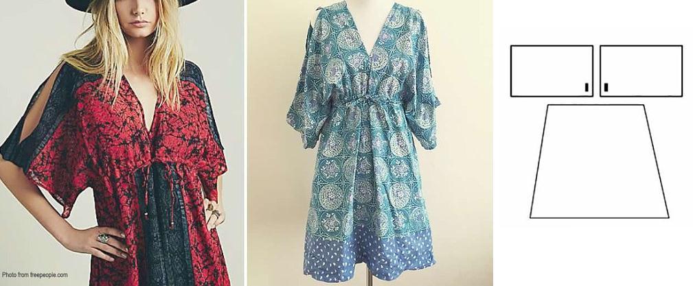 Image result for Bata kimono con patrones totalmente sencillos de trazar