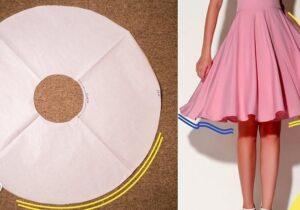 curso como hacer falda circular