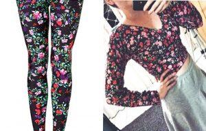 Como hacer una blusa ajustada reciclando unos leggins - Patrones gratis