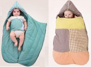 Saco de dormir para bebé - Patrones gratis