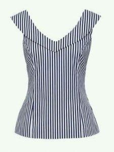 Blusa corpiño con cuello marco - Patrones gratis