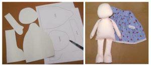 Como crear tus propios patrones de muñecas de tela - Patrones gratis