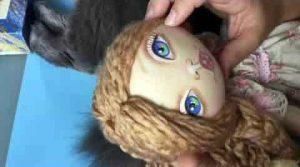 Materiales para pintar las caras de las muñecas de tela - Patrones gratis