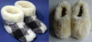 Pantuflas slippers - Patrones gratis