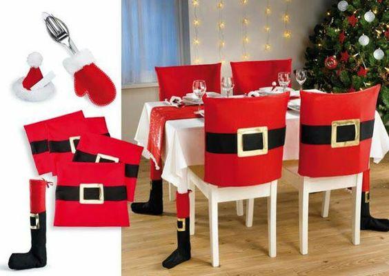 sillas para navidad