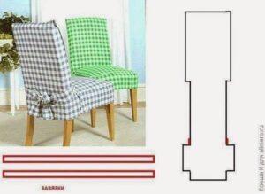 moldes forros sillas